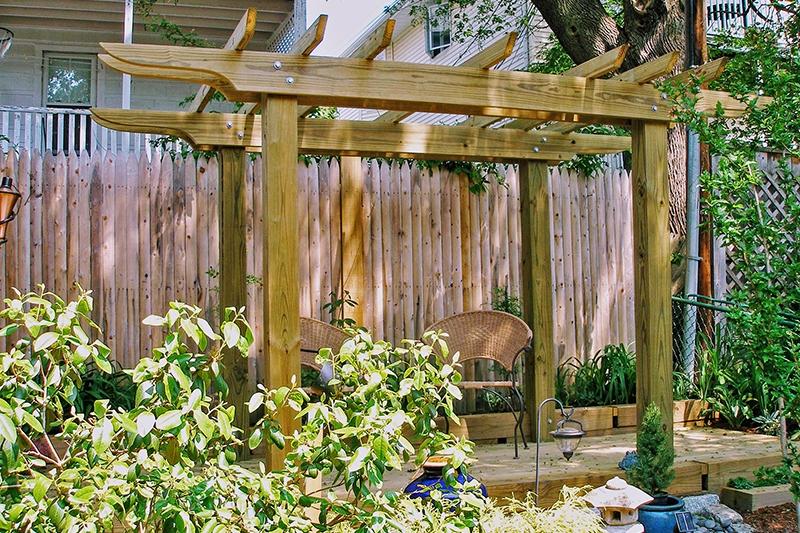 Pergola Deck - West Roxbury