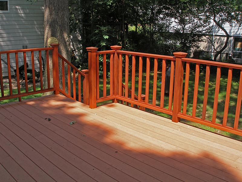 Chestnut Hill, MA 02467 Custom Trex Deck